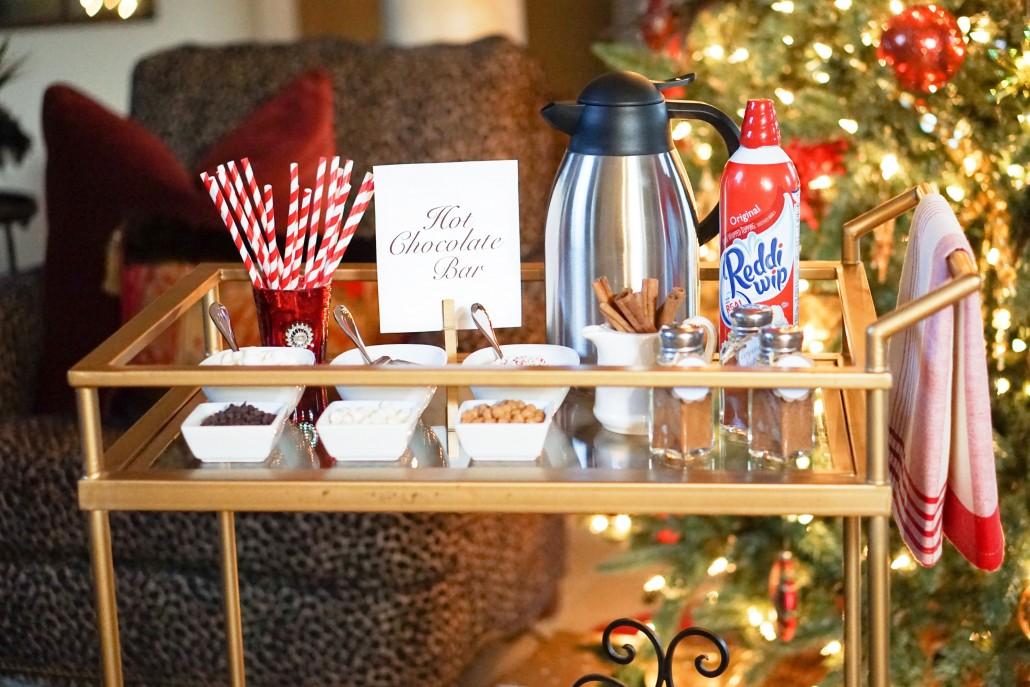 Hot Chocolate Bar Thoughtfully Styled