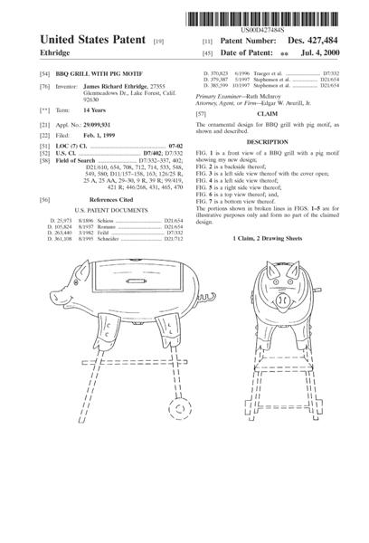 Design Patent Application, Patent to protect the design - Thoughts - provisional patent application example
