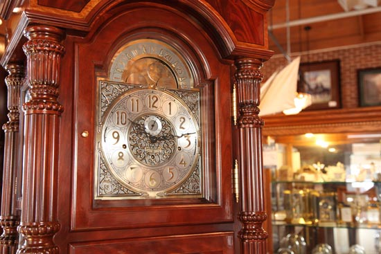 Father-Time-Clock-and-Collectibles