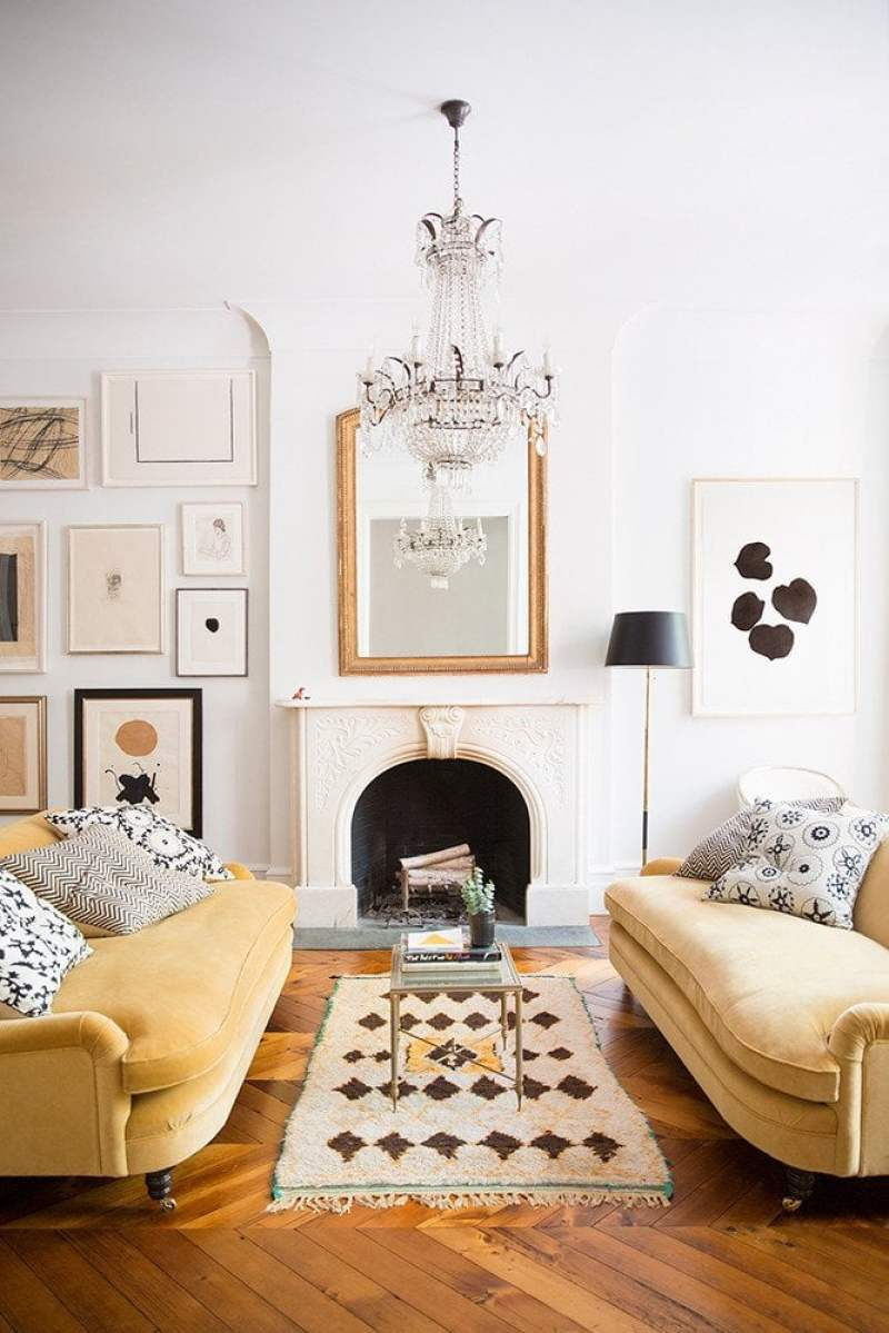 Swell Shopping: Serene Townhouse Living Room | Thou Swell