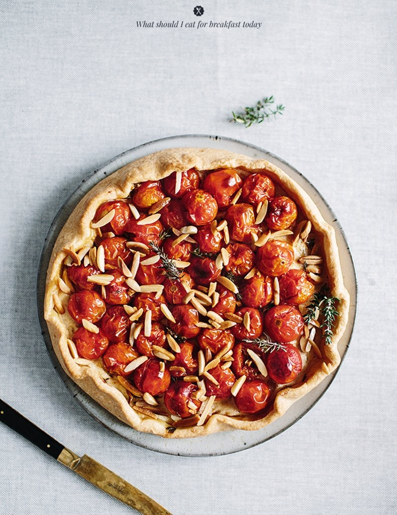Savory Galette via What Should I Eat for Breakfast   Thou Swell http://thouswell.co/