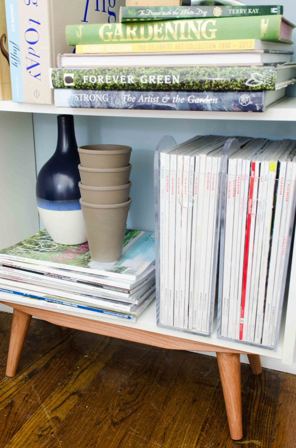 Natural Bookcase On Wooden Legs Diy Bookcase Ikea Hack Thou Swell Mid Century Bookcase Nz Mid Century Bookcase Diy houzz-02 Mid Century Bookcase