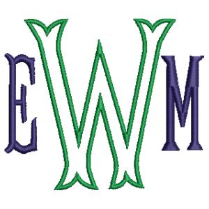 Baroque Monogram