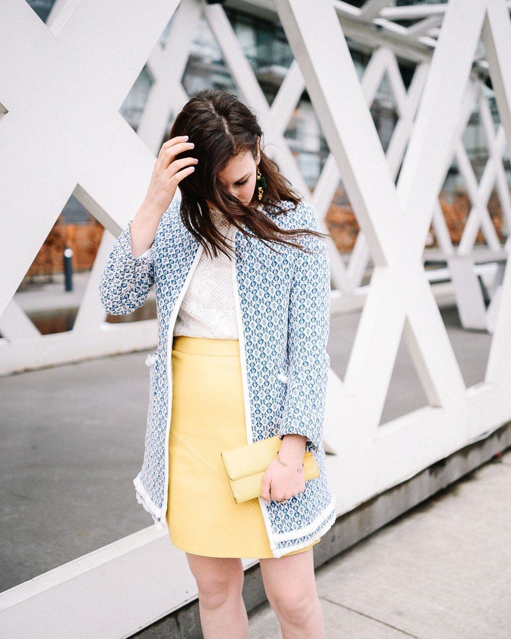 zara-blue-coat-yellow-skirt-3