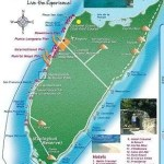 Map of Cozumel Beaches