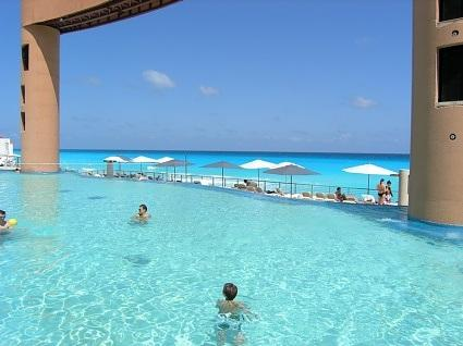 Beach Palace - Cancun Mexico (More information call toll-free 1-877-439-8747)