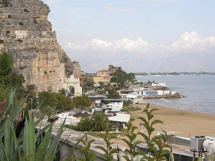 TERRACINA  view from hotel 086