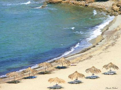 Little Banana Beach, Skiathos, spiaggia solitaria