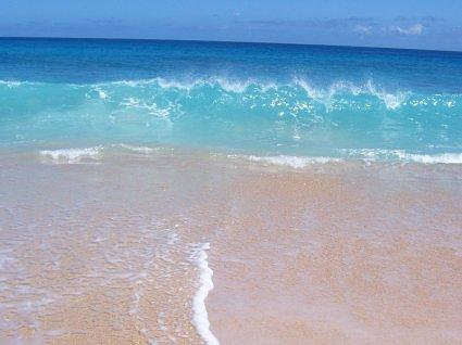 Turquoise waters at Haena Beach Park, Kauai