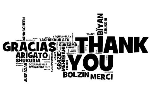 Thank You Cards In Business - The Art of Saying Thanks