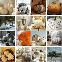 Decorating With Pumpkins, Squash and Gourds