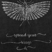 DGD - Digital Goodie Day - Spread Your Wings Chalkboard Art