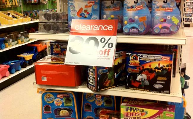 Update On The Big Twice A Year 75 Off Target Toy