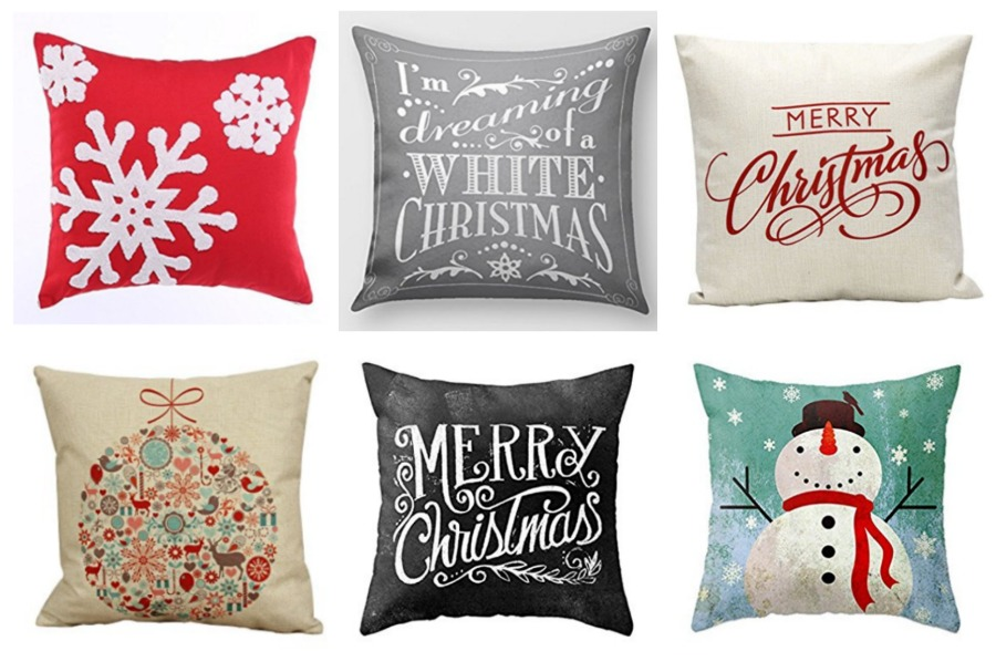 Holiday Decorative Pillow Covers