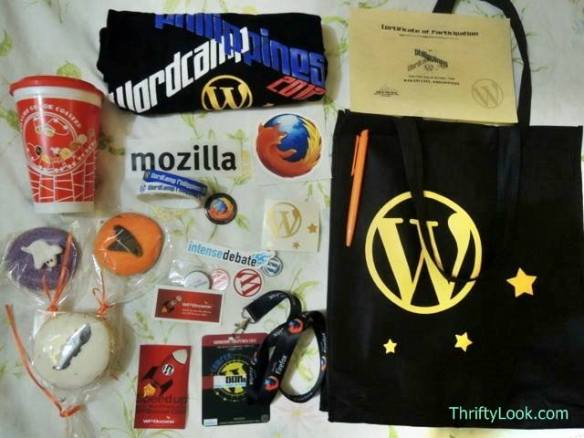 SWAG, stuff we all get, Philippines, wordcamp, wordpress, blog, blogging, networking, cms, content management,