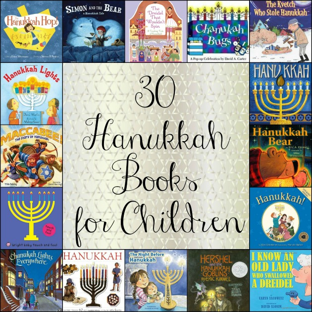 30 Hanukkah Books for Children