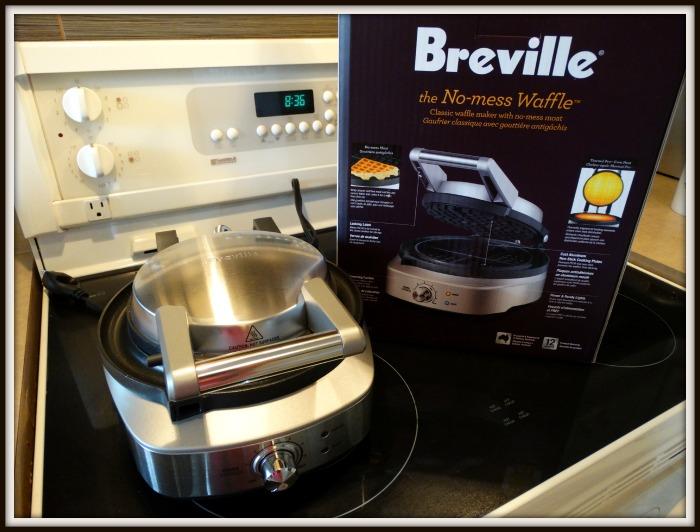 breville no mess waffle maker manual