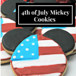4th of July Mickey Cookies Recipe