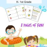 Pool Party Summer Lesson Pack K – Grade 1