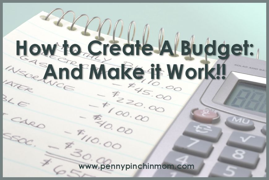 How to Create a Budget and Make it Work - Thifty Sue - creating a budget