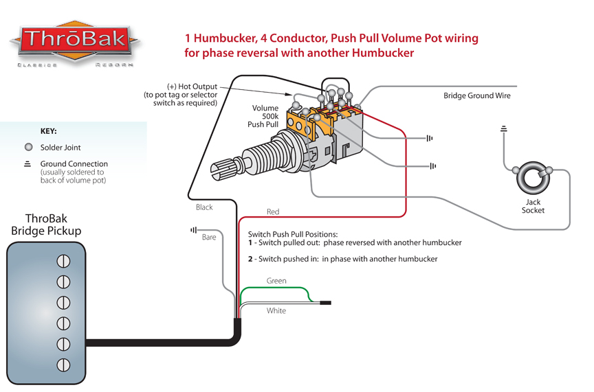 ThroBak Push/Pull Phase Wiring - ThroBak
