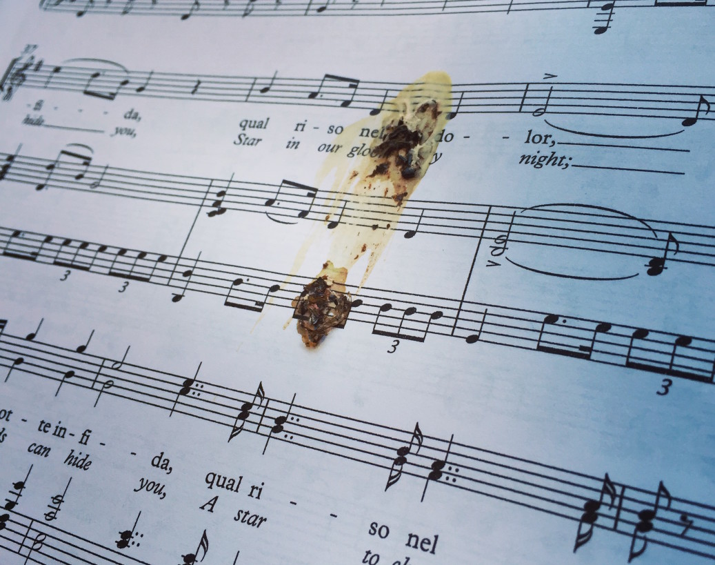 Singer Gives Pianist Illegible, Useless Score