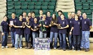 Home School Team Wins 1st at BEST Robotics