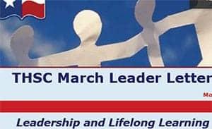 March 2011 Leader Letter