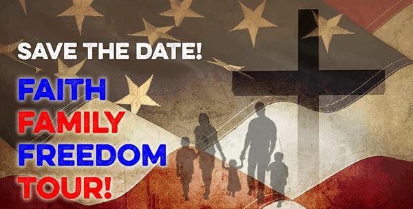 Faith, Family and Freedom Tour in Texas