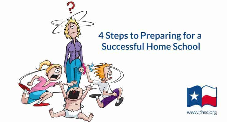 4 Steps to Preparing for a Successful Homeschool