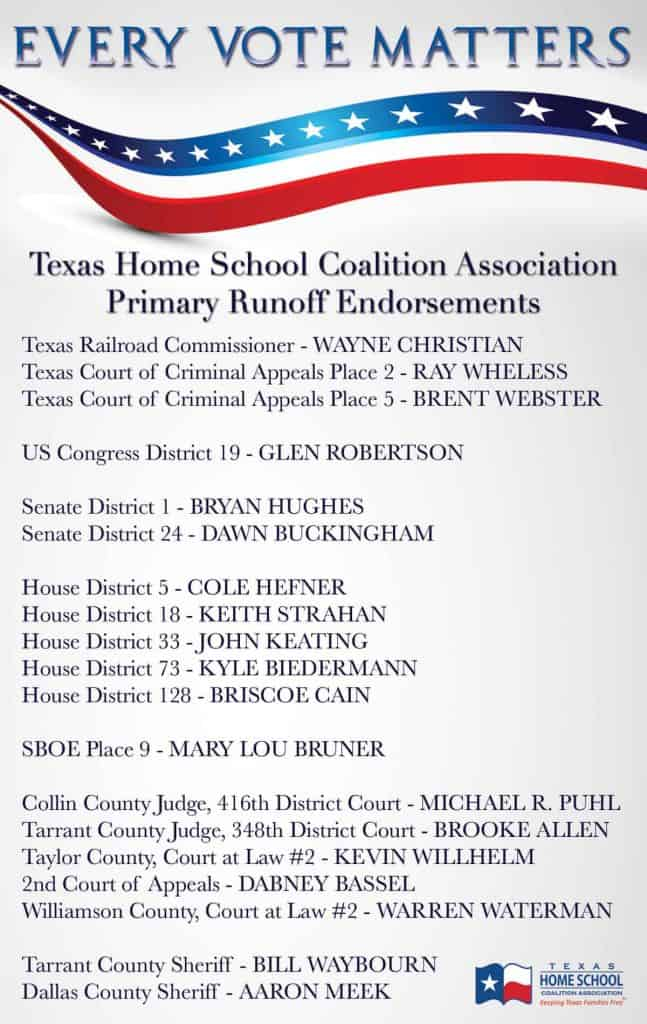 2016 Endorsements - Runoff Election
