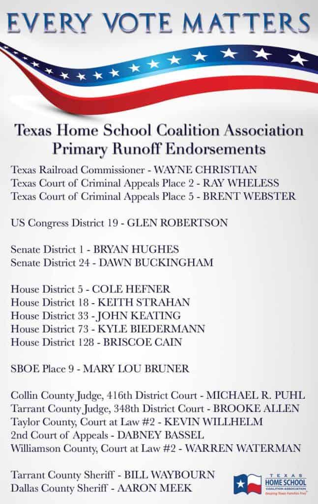 2016 Endorsements - Runoff Election
