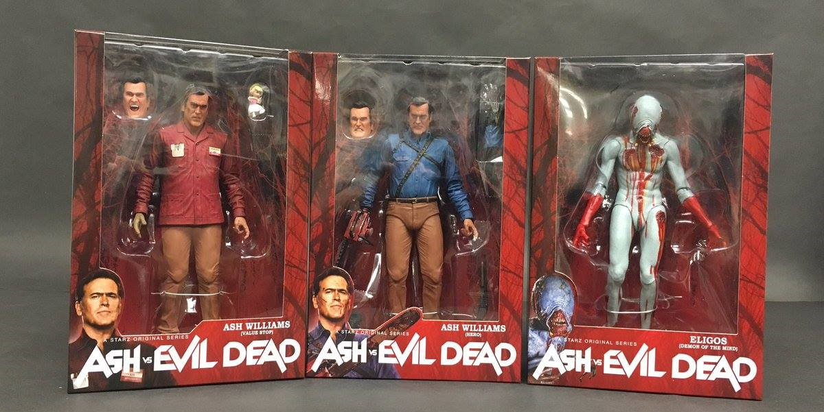Your first look at NECA's upcoming Ash vs Evil Dead Series One