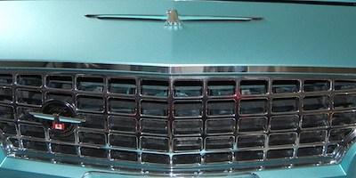 427 grille trim