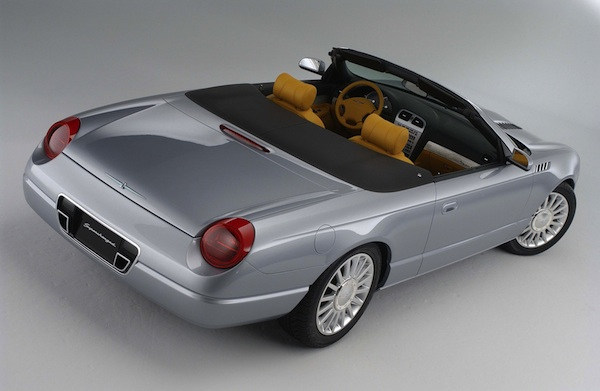 2003 Ford Thunderbird Supercharged Concept Car