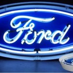 Ford 'Blue Oval' Neon Sign