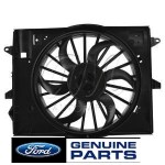 03-04 Ford Thunderbird, Lincoln LS Radiator Cooling Fan Assy. Fits 2003-04 Lincoln LS, 2003-04 Ford Thunderbird, 2003-04 Lincoln LS