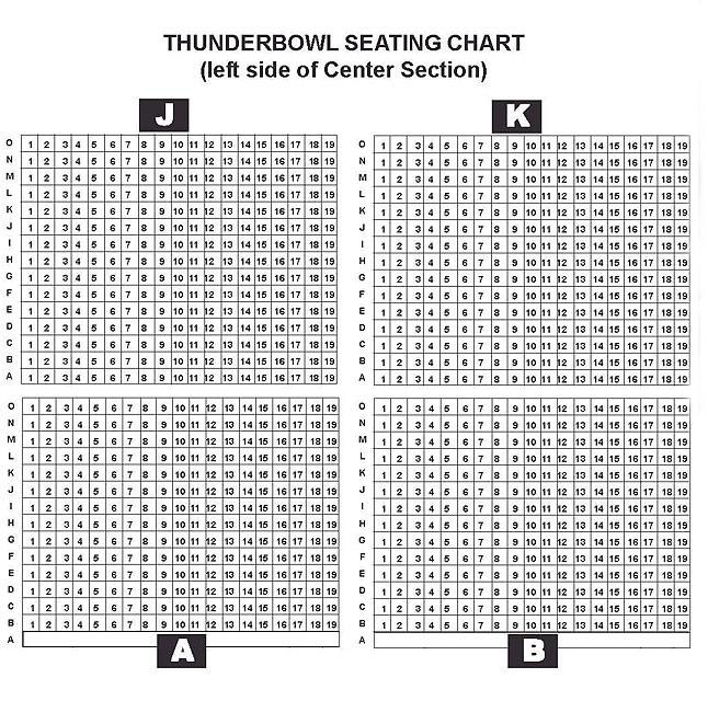 Seating Chart \u2013 Thunderbowl Raceway - seating chart