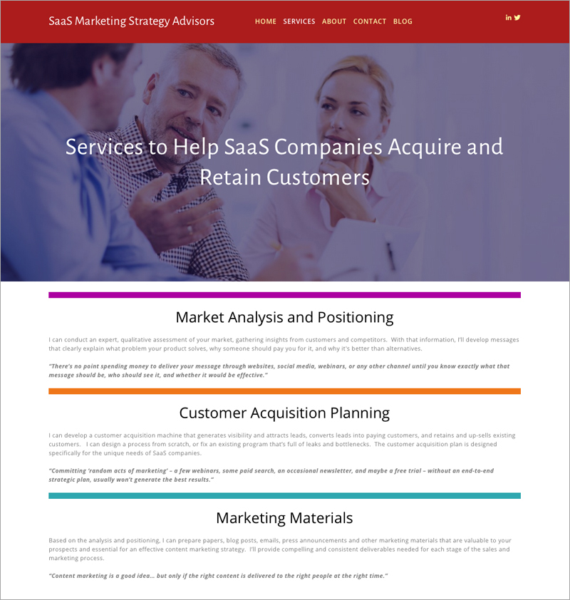 SaaS Marketing - Thunder Sky Pictures