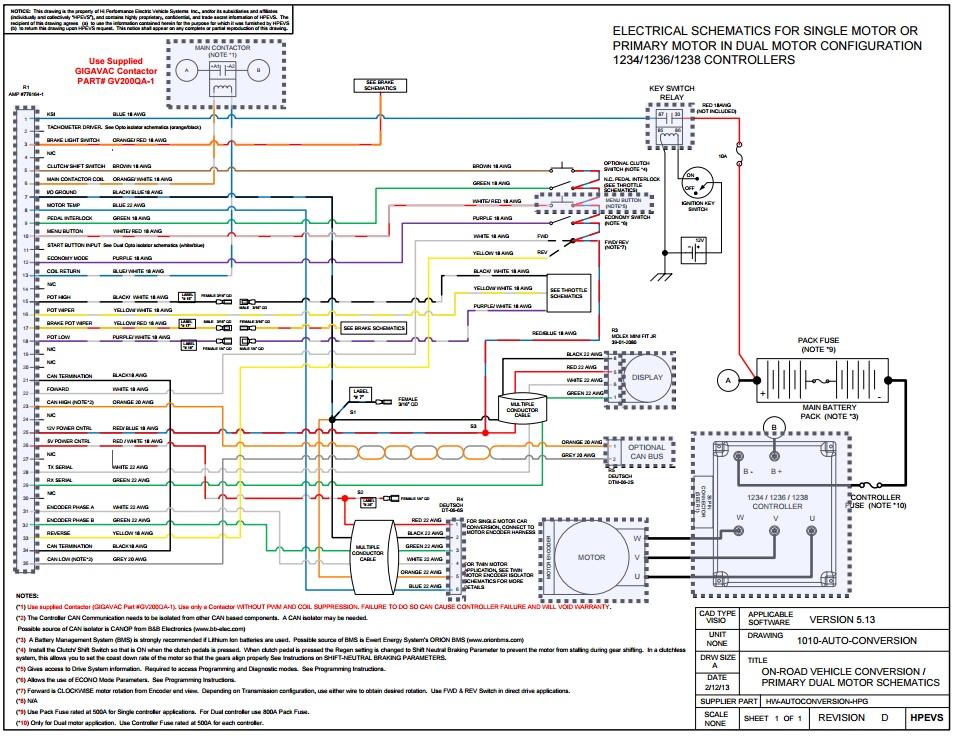 ThunderStruck Motors - Manuals  Data Sheets