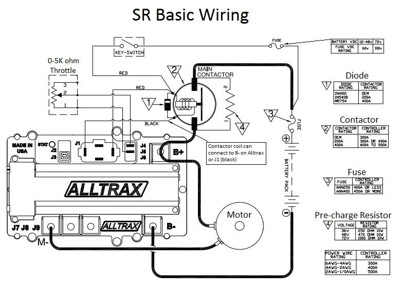 club car alltrax controller wiring diagram