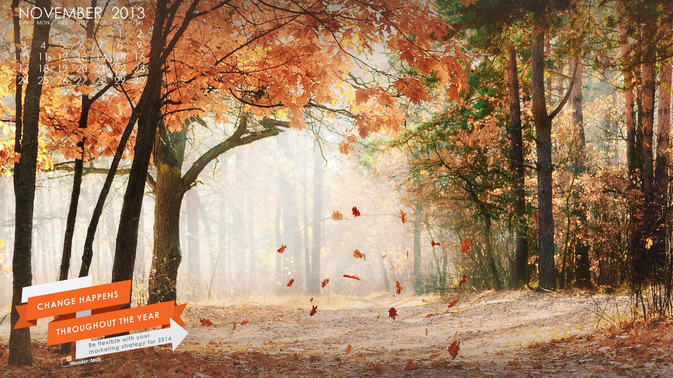 Leaves Fall Desktop Wallpaper Our November Wallpaper Brings A Change Of Autumn Scenery