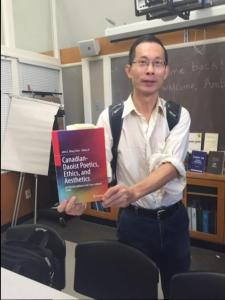 "John Ming Chen shares his writing time between scholarly and creative work. His most recent publication: ""Canadian-Daoist Poetics, Ethics, and Aesthetics: An Interdisciplinary and Cross-cultural Study"""