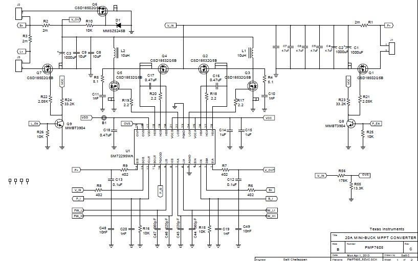 mppt charge controller circuit diagram and simulation electronics