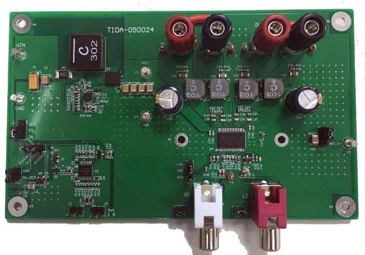 Wireless Speaker design resources and block diagram TI