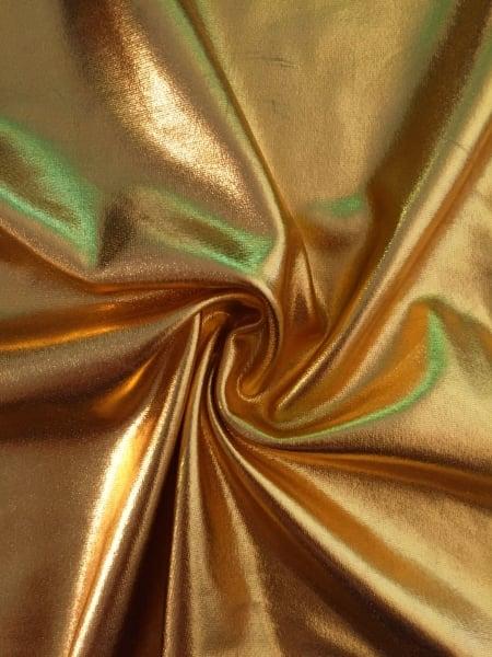 Sunflower Iphone Wallpaper Wet Look Foil 4 Way Stretch Lycra Fabric Sunflower Gold