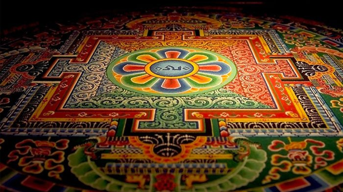 Pattern Wallpaper Hd Sand Mandala In Tibet And Its Profound Philosophy