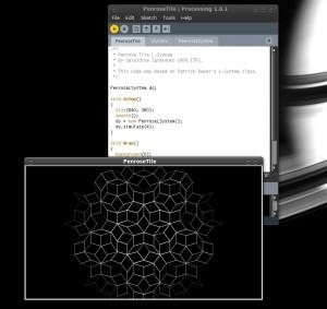 Processing lancé sur Ubuntu Intrepid 64