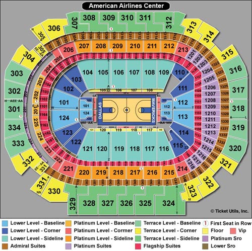 American Airlines Center Tickets AAC Events Seating Chart TicketCity