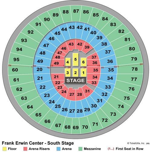 Frank Erwin Center Tickets Austin, TX Upcoming Events